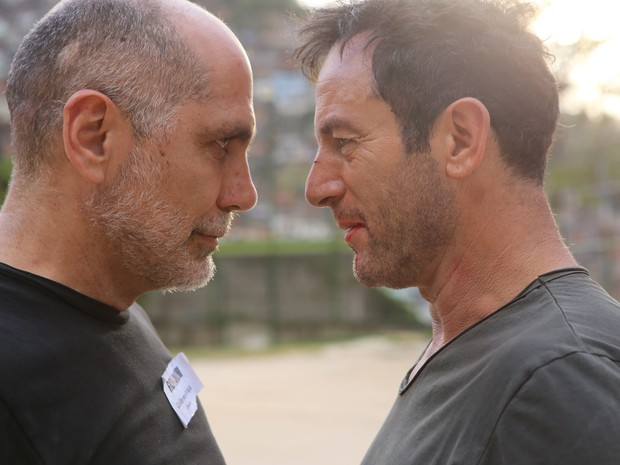 Guilhermo Arriaga e Jason Isaacs (Foto: Gui Maia e Dan Behr)