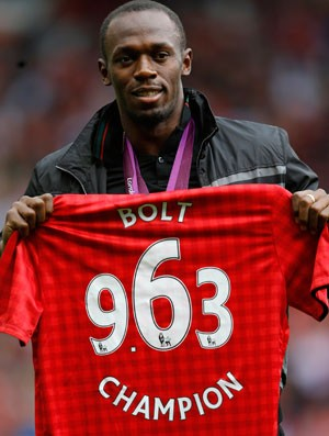 Bolt Manchester x Fulhan (Foto: Reuters)
