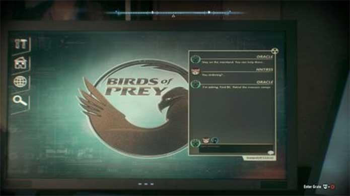 Aves de Rapina mencionadas em Arkham Knight (Foto: Reprodução/Rocksteady)