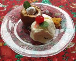 Aprenda a fazer maçãs assadas de Natal (Foto: Luíza Fregapani/ G1)
