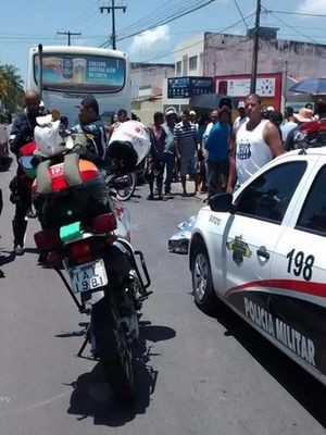 Homem morre após colisão em Aracaju (Foto: SMTT)