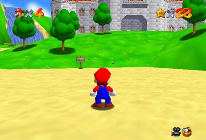 Cenários abertos e maior liberdade do primeiro Mario 3D inspiraram os produtores da Squaresoft (Foto: Reprodução / Dario Coutinho)