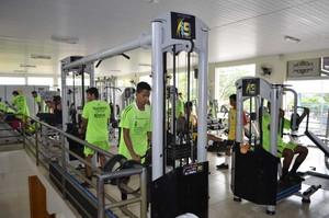 Tocantinópolis em preparação física para o estadual (Foto: Romário/Agitustoc)