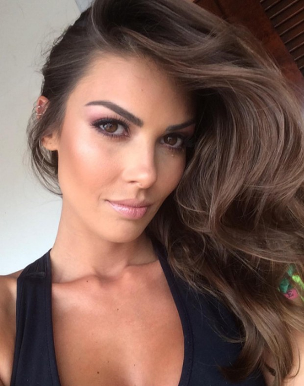 Francine Pantaleão, ex de Kiko, confirmou término de namoro (Foto: Reprodução/Instagram)
