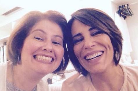 Narjara Turetta e Gloria Pires (Foto: Reprodução)