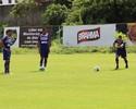 Bahia fecha preparação com treino tático e de bola parada no Fazendão