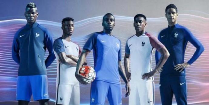 6f02cdb648 Seleções que disputarão a Eurocopa da França lançam novos uniformes