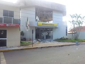 Explosão Caixa Eletrônico Perdizes (Foto: Raphael Rios/G1)