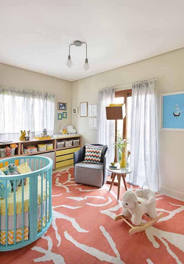 Tapete Safari Quarto Bebe : Esp?rito livre e l?dico no quarto de beb? – Casa Vogue Ambientes