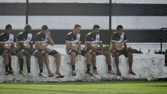 Jogadores do ASA (Foto: Leonardo Freire/GloboEsporte.com)