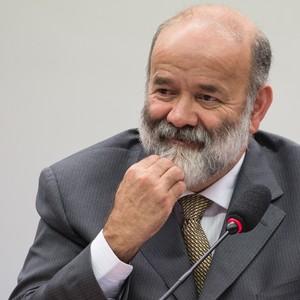 João Vaccari Neto presta depoimento na CPI da Petrobras (Foto: Marcelo Camargo/Agência Brasil)