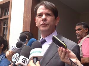 Governador do Ceará, Cid Gomes pediu que o Congresso derrube veto de Dilma (Foto: Mariana Oliveira/G1 )