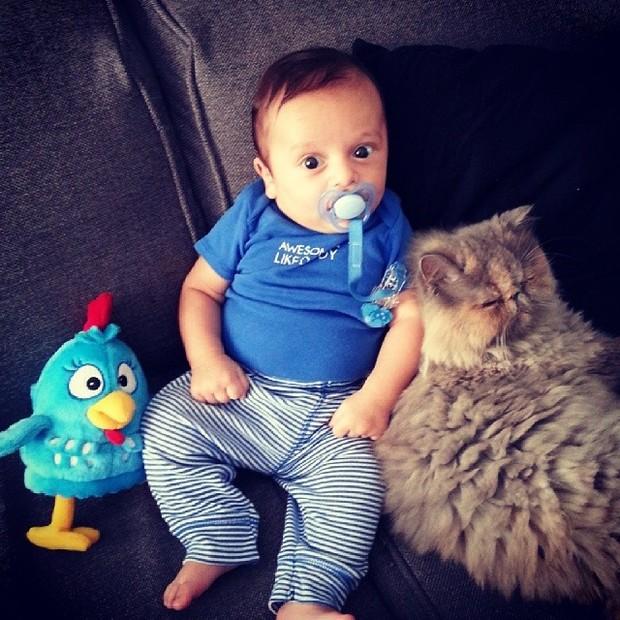Filho de Jaque Khury (Foto: Reprodução/ Instagram)