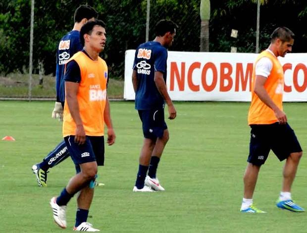 Treino Cruzeiro (Foto: Marco Antônio Astoni / Globoesporte.com)