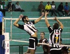 Vôlei masculino sub-21 Santos (Foto: Divulgação / Zerri Torquato)