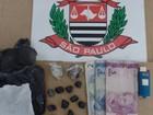Jovem é preso em flagrante por tráfico de drogas em Votuporanga
