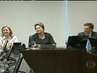 Dilma Rousseff recebe cantoras evangélicas no Palácio do Planalto