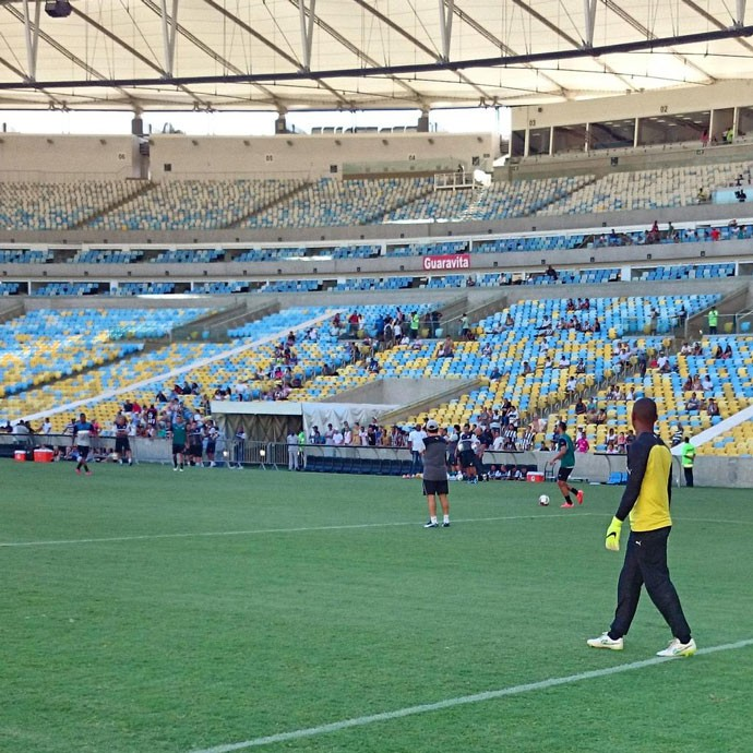 Treino Botafogo Maracana