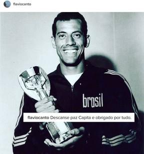 Flávio Canto lamenta morte de Carlos Alberto Torres (Foto: Reprodução/Instagram)