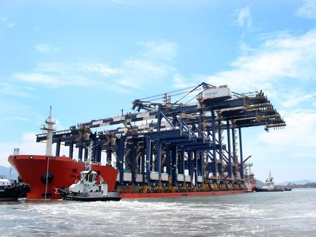 Novos equipamentos chegaram nesta sexta-feira, em Santos (Foto: Divulgação/Estúdio 58)