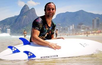 Henrique encara nova vida através do surfe adaptado e vai a corrida solidária