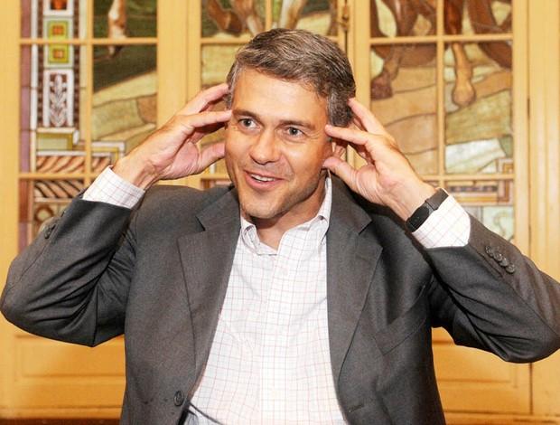 Peter, presidente do Fluminense (Foto: André Durão / Globoesporte.com)