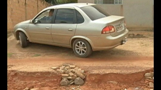 Mais da metade das ruas de Redenção, no Pará, não tem asfalto