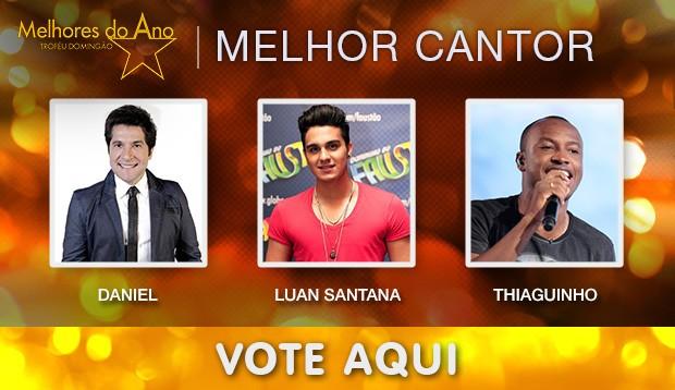 Melhores do Ano - Melhor Cantor (Foto: Domingão do Faustão / TV Globo)