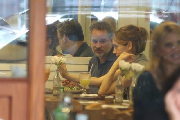 Camila Morgado e Dan Stulbach (Foto: André Freitas / AgNews)