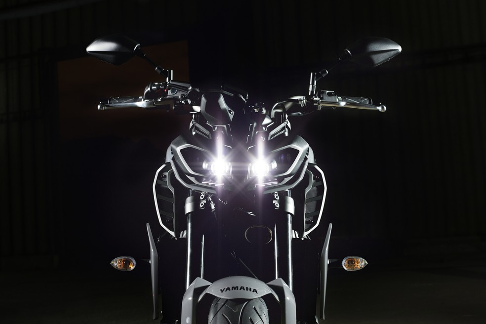 Yamaha MT-09 (Foto: Divulgação)