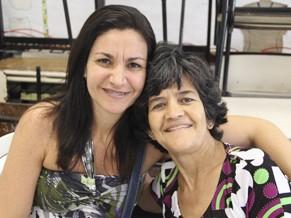 Amiga levou Ana Lúcia para tirar a caretidão de nascimento (Foto: Divulgação/ Mariana Cabral)