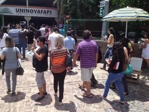 No Piauí, índice de abstenção durante Exame da OAB foi de 3,87% (Foto: Gilcilene Araújo/G1)