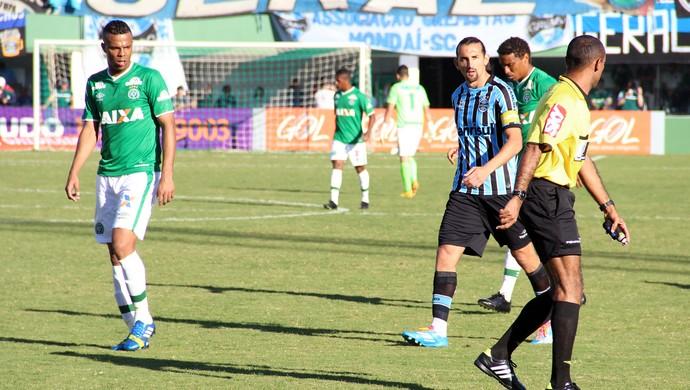 André Paulino Chapecoense x Grêmio (Foto: Diego Carvalho/Aguante Comunicação)