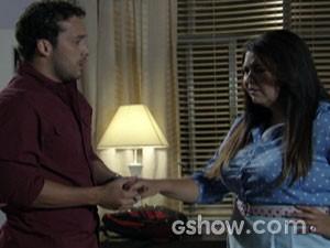 Perséfone e Daniel  (Foto: Amor à Vida / TV Globo)