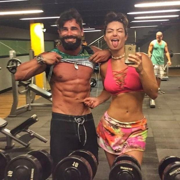 Jorge Sousa e Laura Keller (Foto: Instagram / Reprodução)