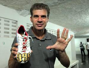 Túlio comemoração gol Botafogo chuteira (Foto: Pedro Veríssimo / Globoesporte.com)