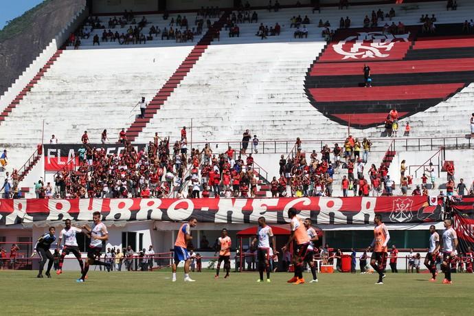 Flamengo Gávea Torcida (Foto: Gilvan de Souza / Flamengo)