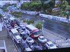 Com chuvas, Fortaleza amanhece com semáforos apagados