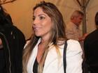 Ex-BBB Anamara e mais famosos curtem show de Zeca Pagodinho