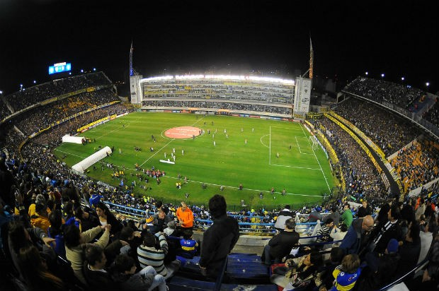 Boca Juniors Corinthians Bombonera (Foto: Marcos Ribolli / Globoesporte.com)
