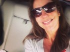 Ivete Sangalo chega de viagem: 'Baterias cheias'