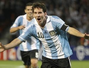 Lionel Messi Argentina (Foto: AP)