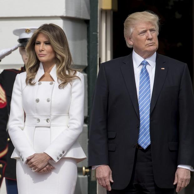 Melania e Donald Trump: casamento cheio de tensão (Foto: Getty Images)