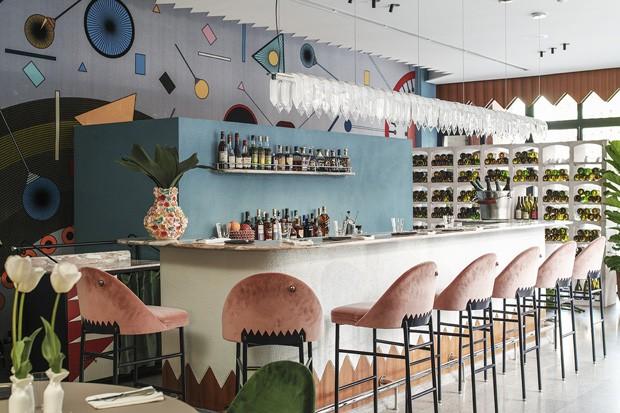 Por dentro do Kaléo, restaurante lúdico em Beirute (Foto: Fotos Marco Pinarelli)