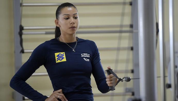 Carol treino seleção vôlei (Foto: Divulgação/CBV)