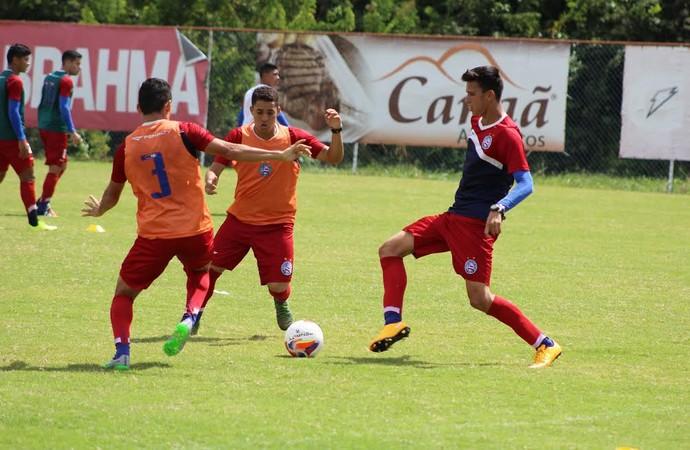 Bahia treina no Fazendão (Foto: Divulgação / Bahia)