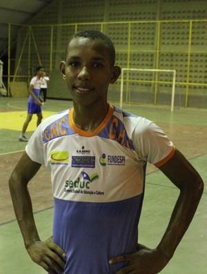 Euzébio Henrique, handebol do Piauí (Foto: Wenner Tito)