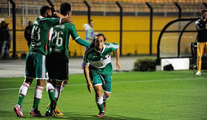 Valdivia gol Palmeiras x Chapecoense (Foto: Leandro Martins / Ag. Estado)
