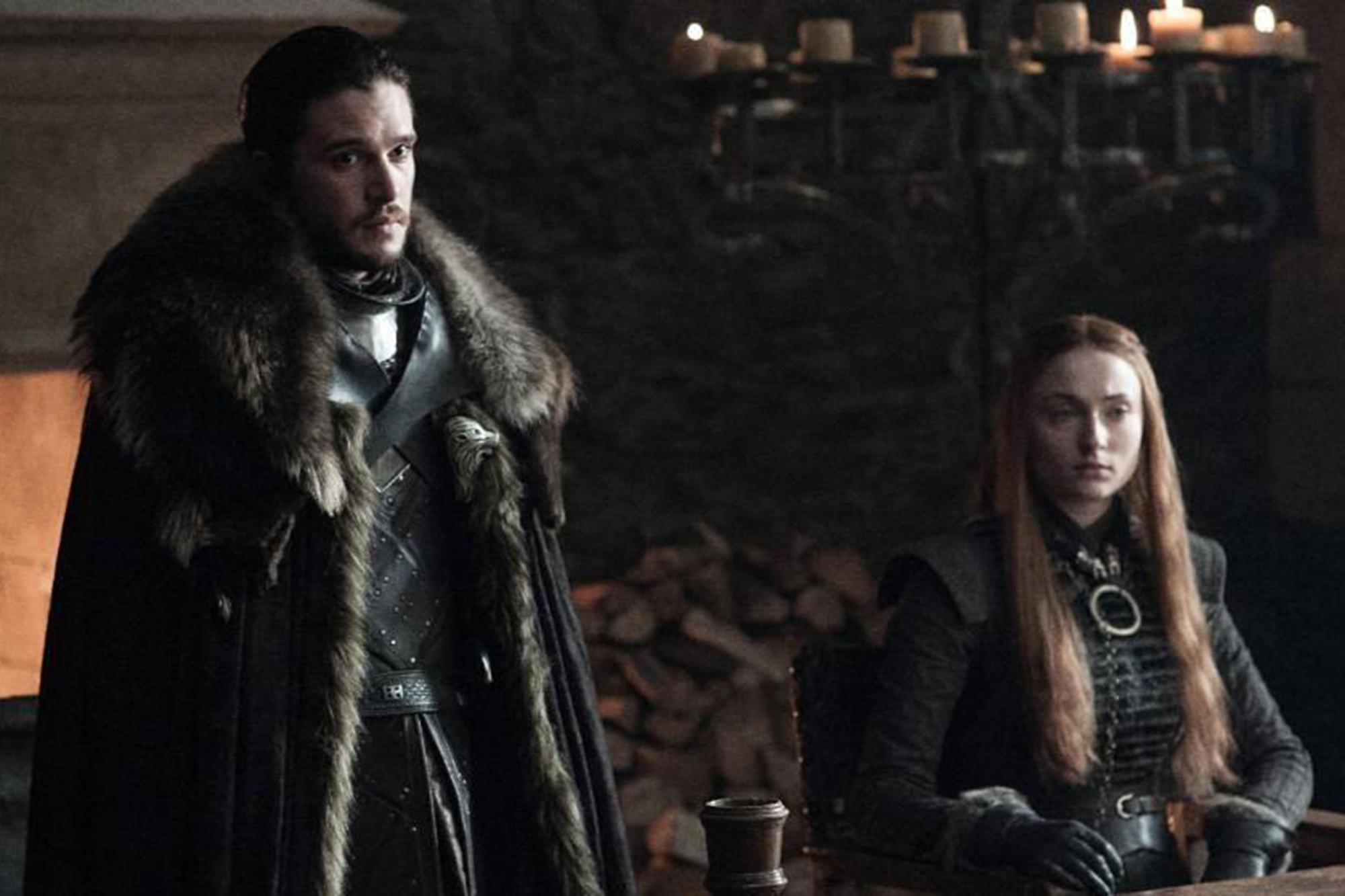Sansa Stark e Jon Snow (Foto: HBO)