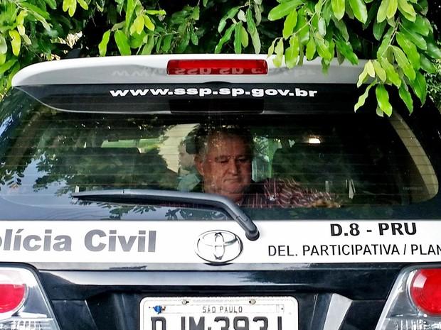Gilmar Bernardes foi detido em sua casa, em Presidente Prudente (Foto: Heloise Hamada/G1)